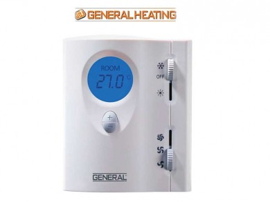 Fan-coil room thermostat-color