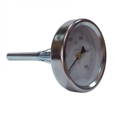 Термометър метален 15см- 500 градуса