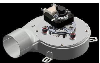 Smoke extractor 330m³/h 77W Hall sensor