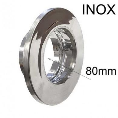 Розетка инокс -80мм