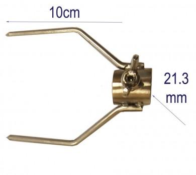 двойна вилица INOX-10см