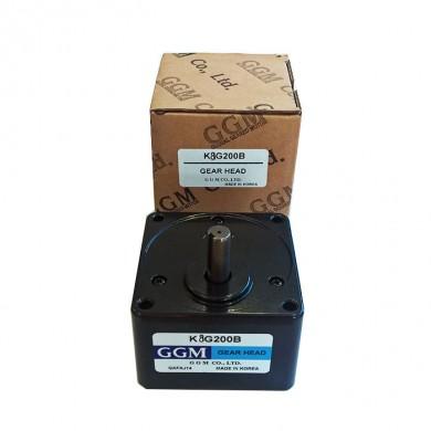Редуктор GGM - 200В 80x80mm  6.3 оборота