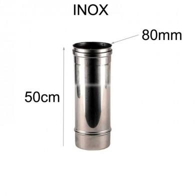Тръба инокс 50см -Ø 80мм