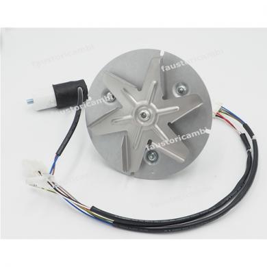 Smoke extractor 180m³/h 32W Hall sensor