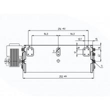 Тангенциален вентилатор150m3/h30W  Ø45