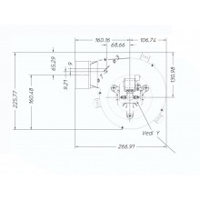 вентилатор 120m3/h-34W