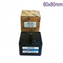 Редуктор GGM - 100В 80x80mm  12.5 оборота