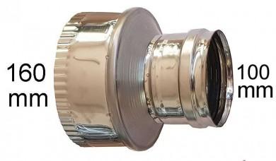 редуктор инокс Ø 100-Ø160mm
