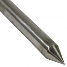 метален шиш дължина 1.70м INOX-21.3мм