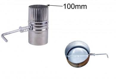 Клапа за ръчно регулиране 100мм