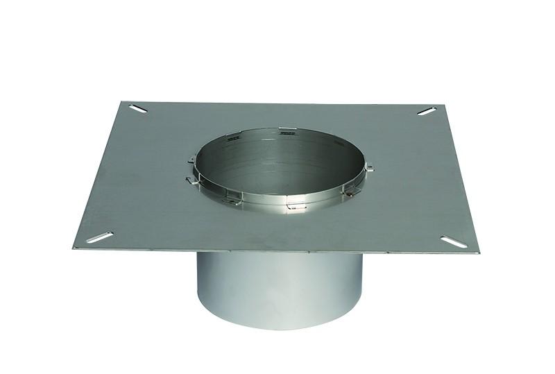 Преход за вентилатор-квадрат