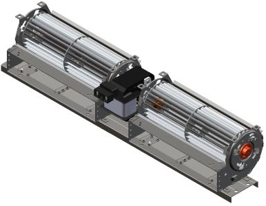 Вентилатор за конвектор170m3-265m3 -454mm