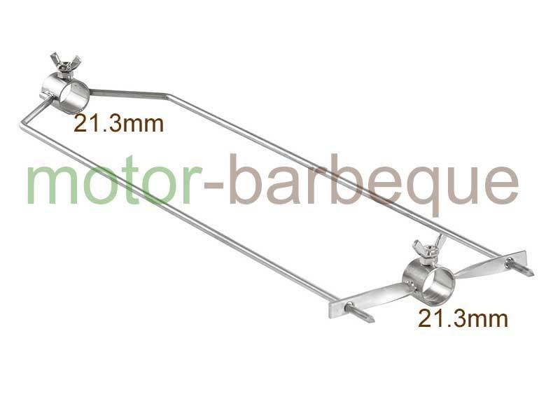 Вилица за шиш 48х12см INOX 21.3mm