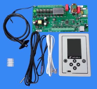 Контролер за пелетна горелка цветен екран