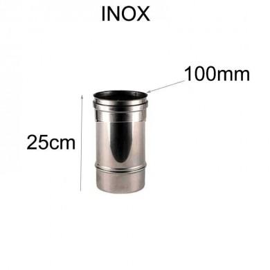 Тръба инокс 25cm-Ø 100mm