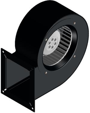 Вентилатор тип охлюв 420м3-125W