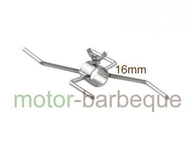 двойна вилица Х образна  INOX - Φ 16мм