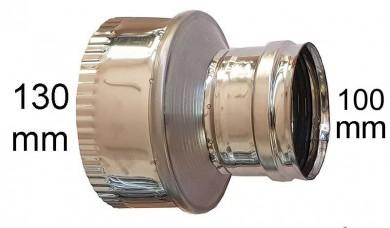 редуктор инокс Ø 100-Ø130mm
