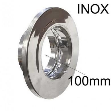 Розетка инокс -100mm