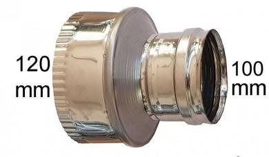 редуктор инокс Ø 100-Ø120mm