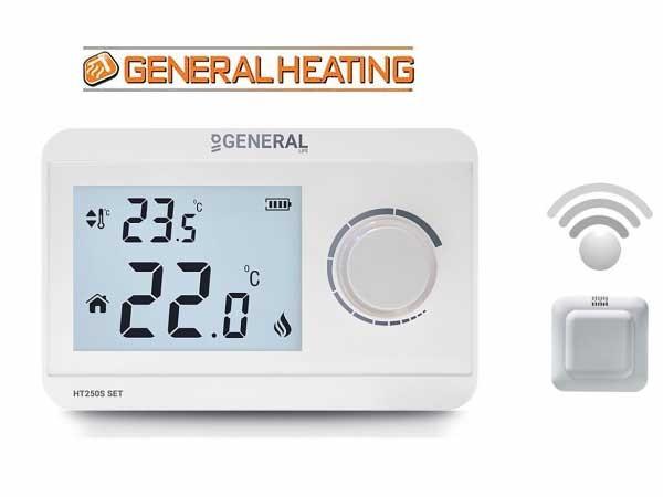 GHT250SET-Безжчен термостат